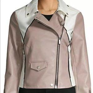Bagatelle moto faux leather jacket NWT
